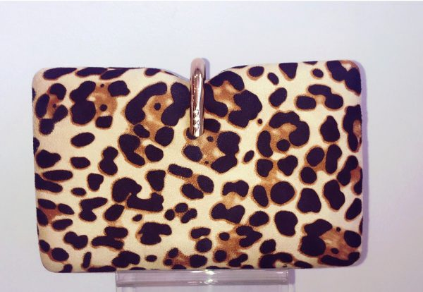 Glamour 'Roslyn' Bag - Leopard